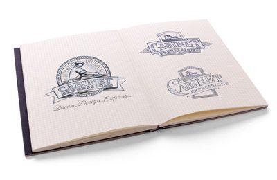 Logo Design Sketch Process