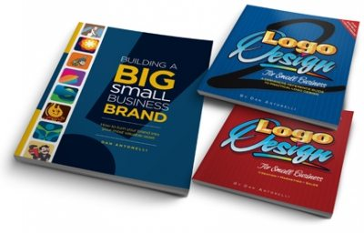 logo-design-books, Building a Big Small Business Brand