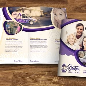 12-page brochure design and layout