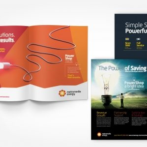 Layout, design and copywriting for print advertising