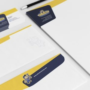 Stationery design for HVAC contractor located in Springdale, AR.