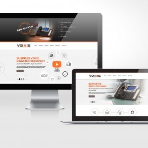 Web design for a leading provider of telecommunications, VOIP, voice continuity plans, unified communications platforms, voice and data, and telecom solutions.