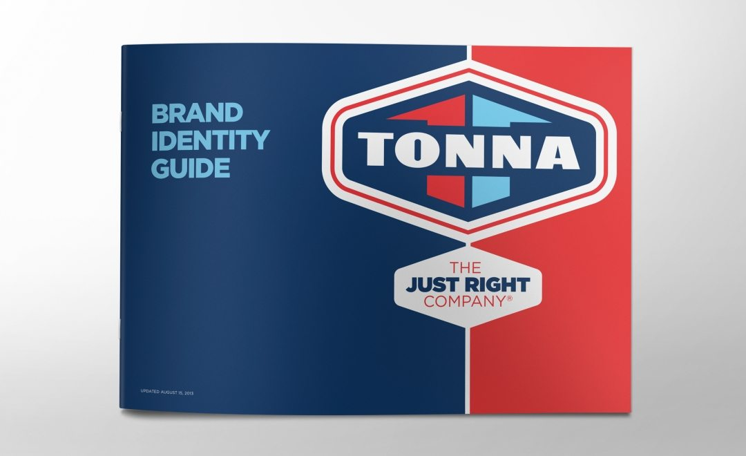 Brand identity guide for a HVAC contractor located in Minnesota.