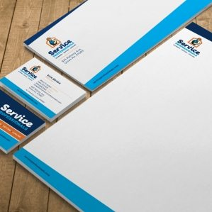 Stationery design for a HVAC and plumbing company located in Union, NJ.