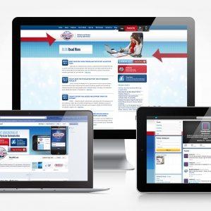 Facebook, Twitter and blog design and management for MedXcom.