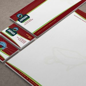 Stationery design for property maintenance firm in Massachussetts.