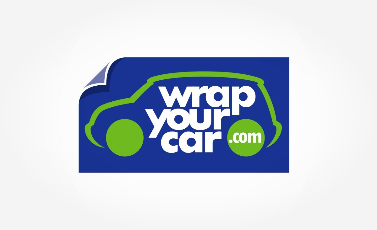Logo design for a vehicle wrap installer located in southern Florida.