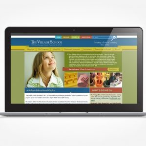 Web design for a Montessori school in Waldwick, NJ