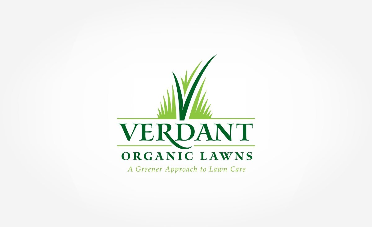 Logo design for a contractor specializing in providing a greener approach to lawn care.