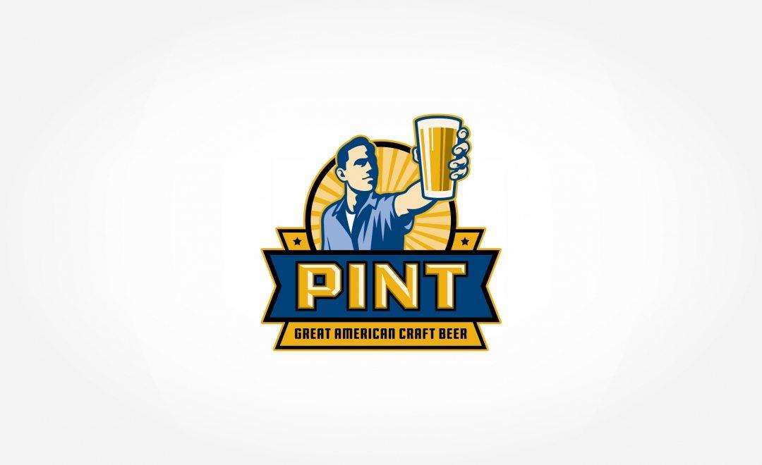 Retro logo design for craft beer bar in Hoboken, NJ.