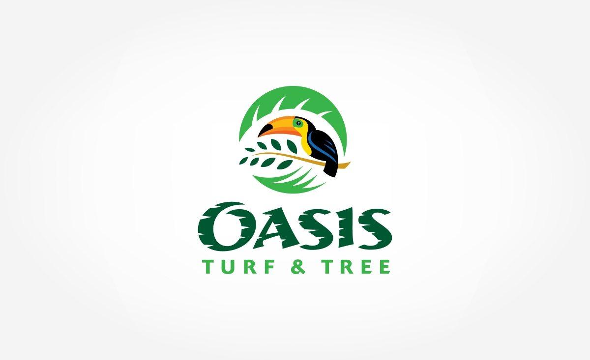 Brand identity development for a lawn care company in Ohio.