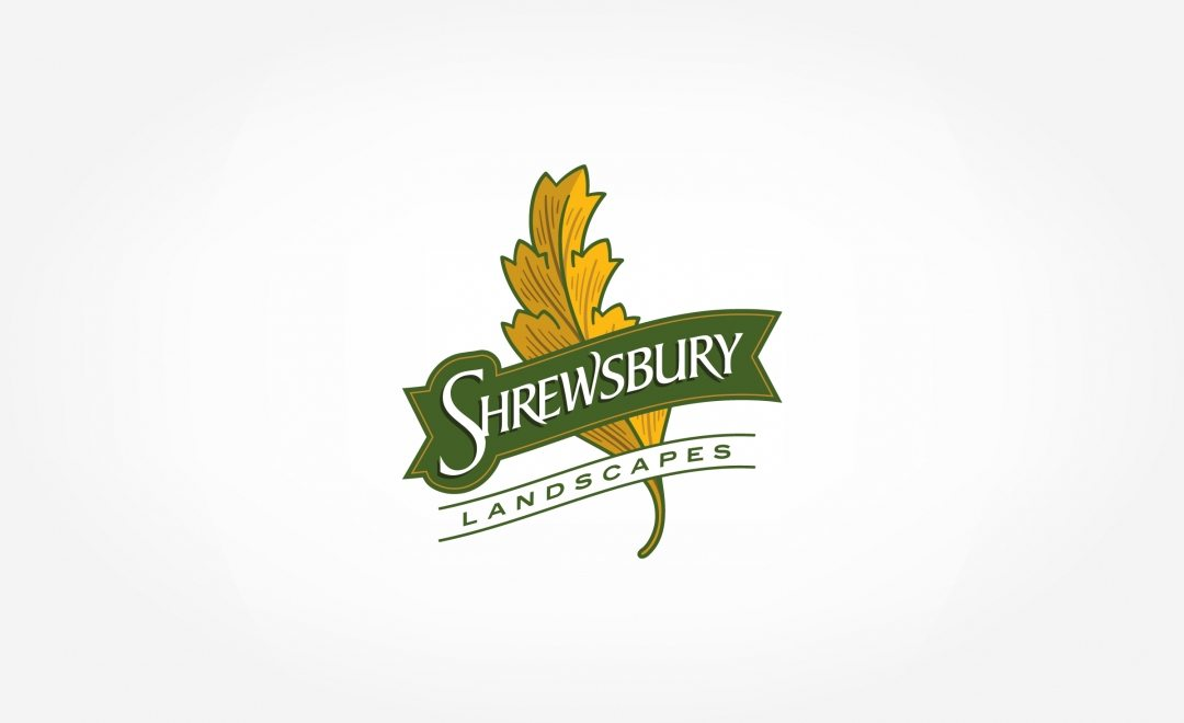 Logo design for a landscape company in Shrewbury, MA.