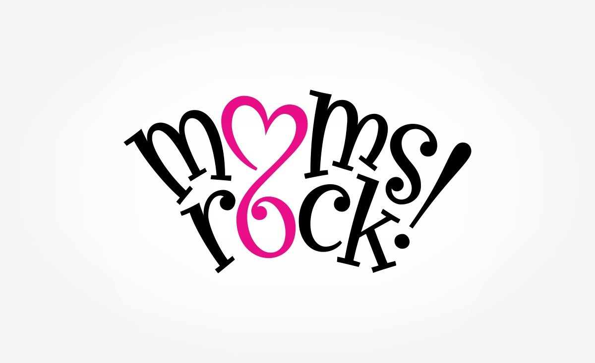 Logo design for a Massachusetts based retail store that specializes in making Moms rock!