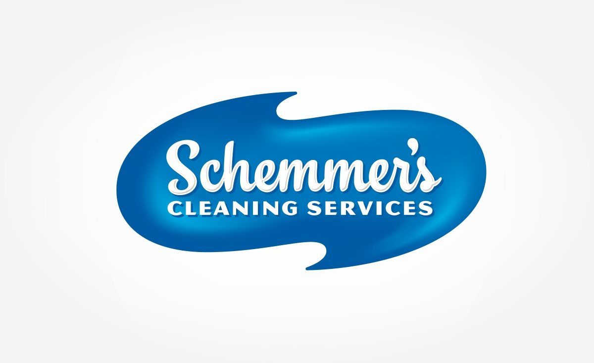 Logo and brand development for a cleaning service located in Two Harbors, MN.