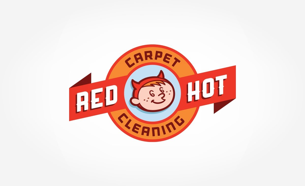 Vintage logo design for a carpet cleaning company in PA.