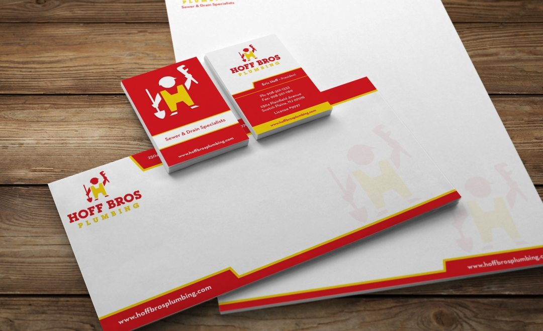 Stationery design for a trench less repair and installation specialist company.