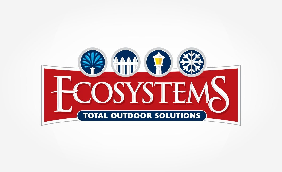 Logo and web design for a company that specializes in outdoor installation systems.