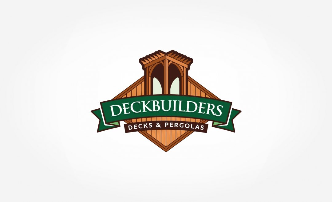 Logo design and brand development for a deck building and outdoor feature contractor located in Madison, AL.