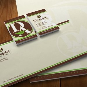 Stationery design for a landscaping company in LBI, NJ.