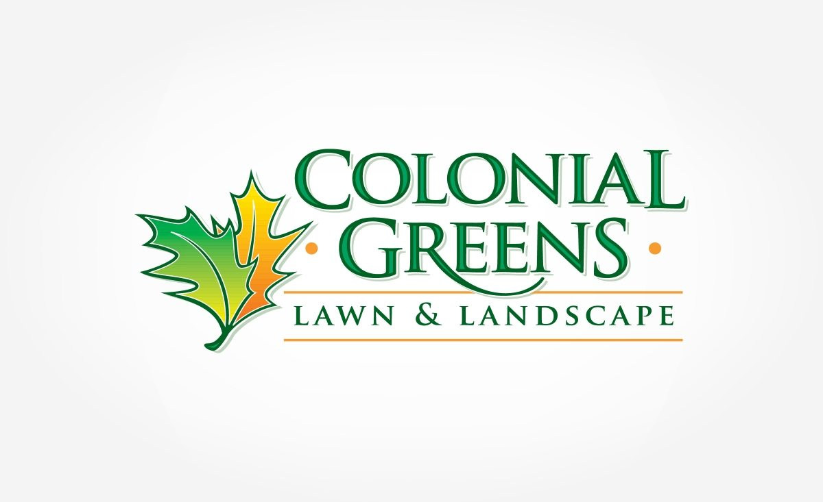 Logo and brand design for a landscaping company.