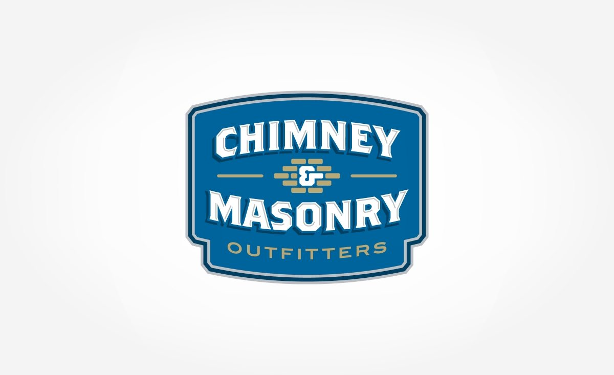 Branding and logo design for a chimney and masonry restoration company located in Indianapolis, IN.