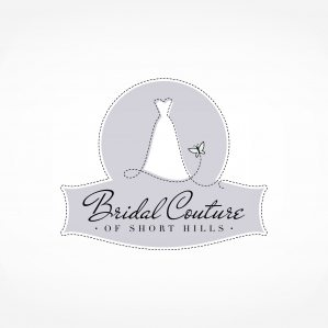 Logo and brand design for a full service bridal salon in New Jersey.