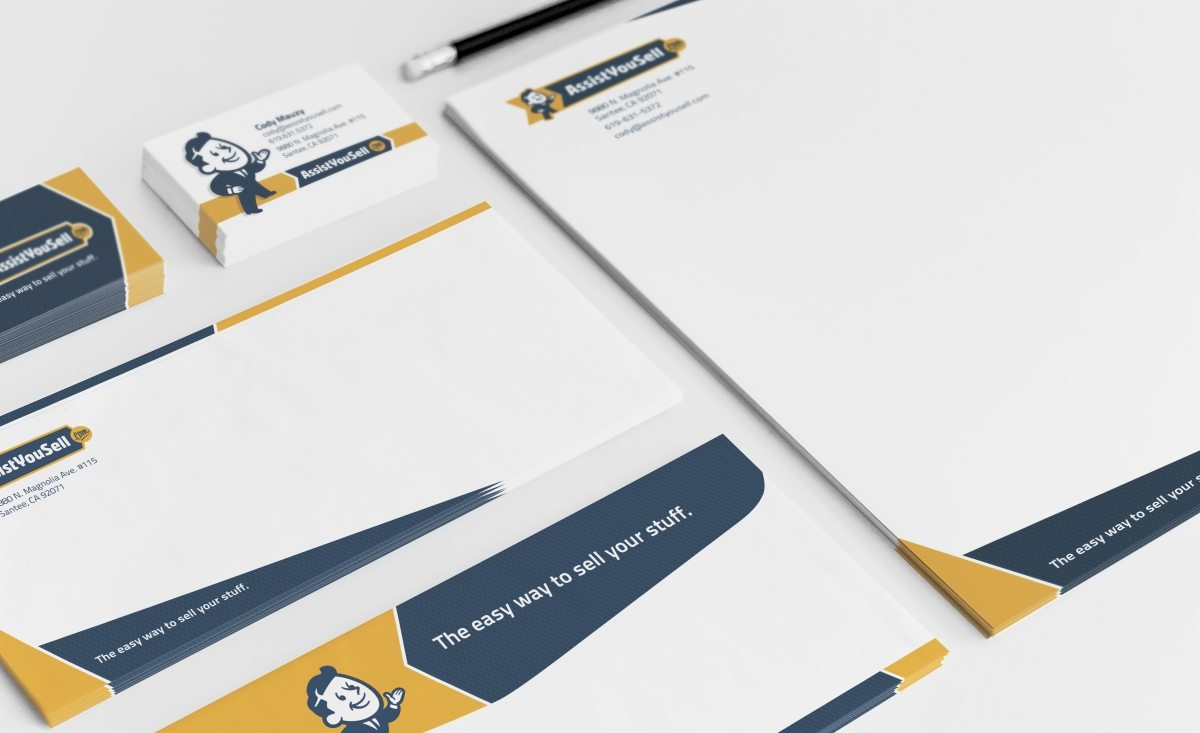 Stationery design and printing