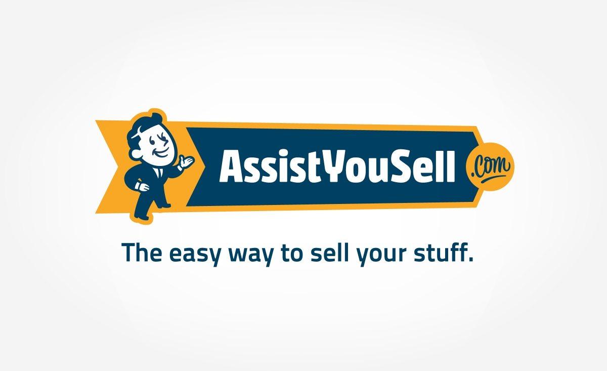 Logo design for an online marketplace.