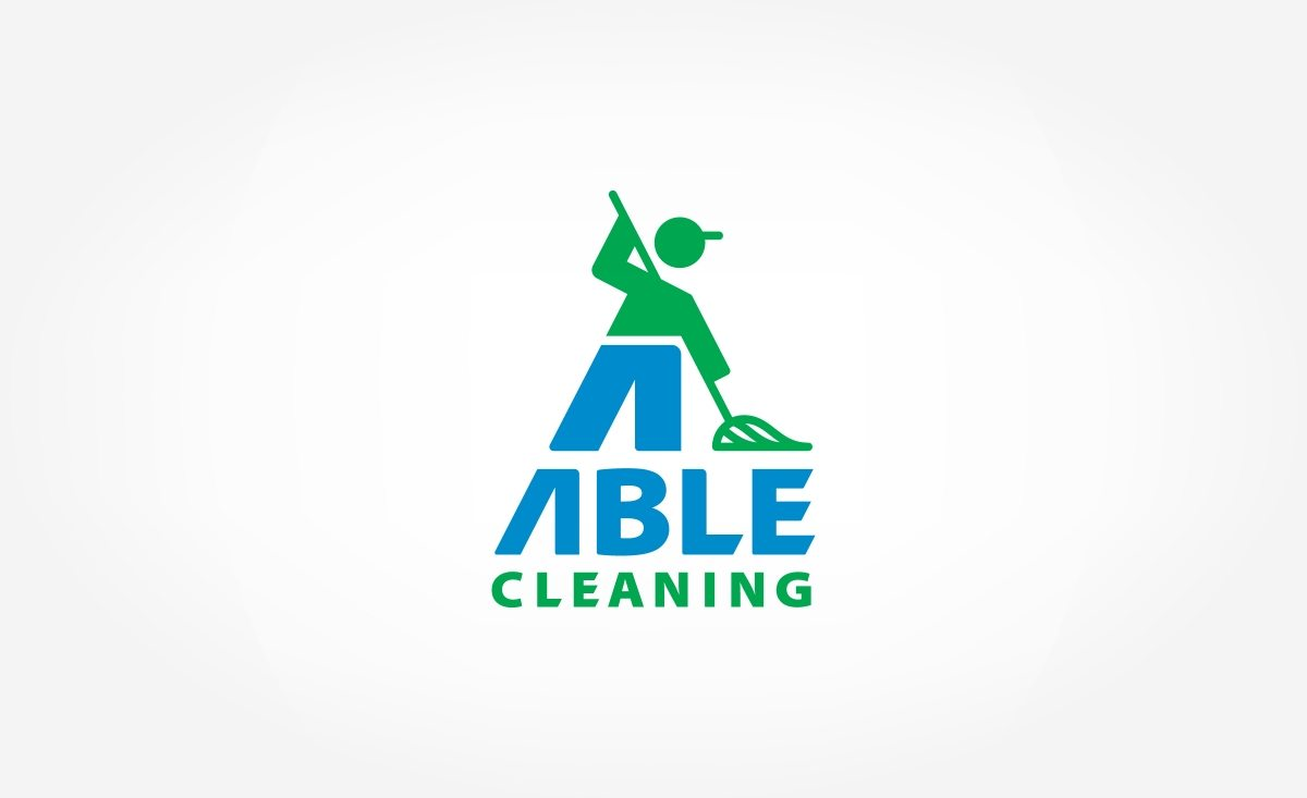 Logo design for a commercial and residential cleaning company in New Jersey.