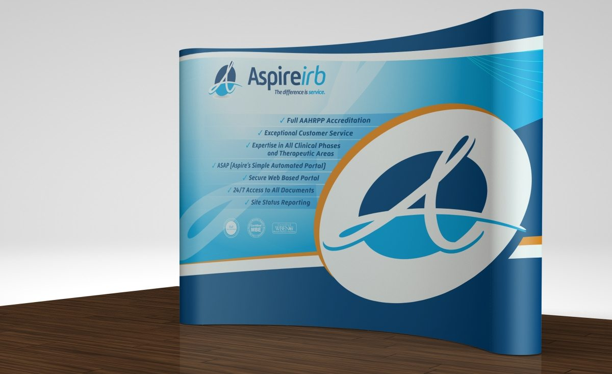 Trade show booth design and printing
