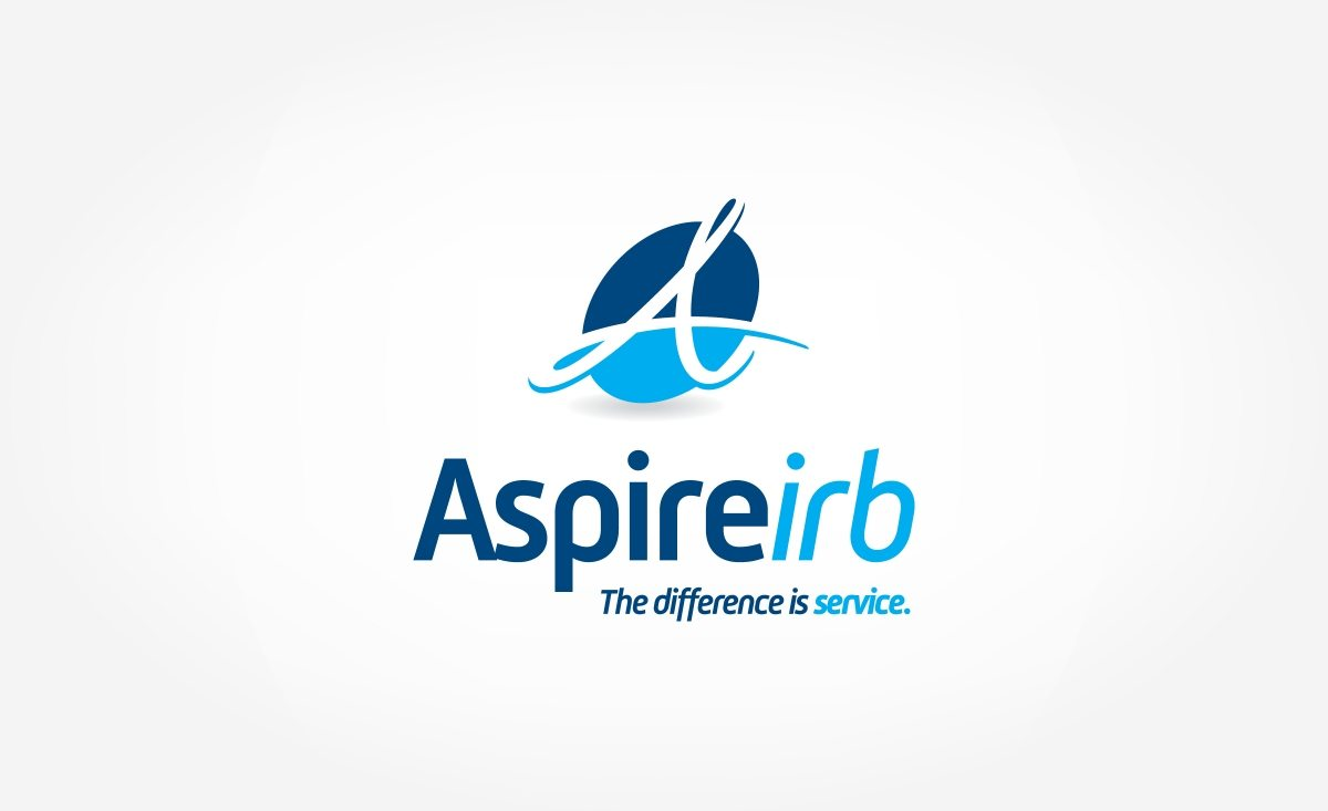 website design aspire irb graphic d signs branding created or a company in la mesa california that promotes research in healthcare