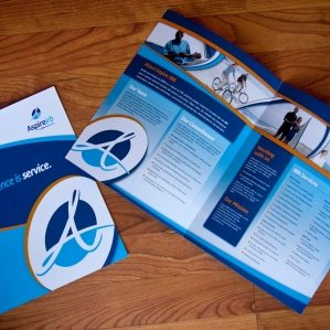 Brochure design and copywriting