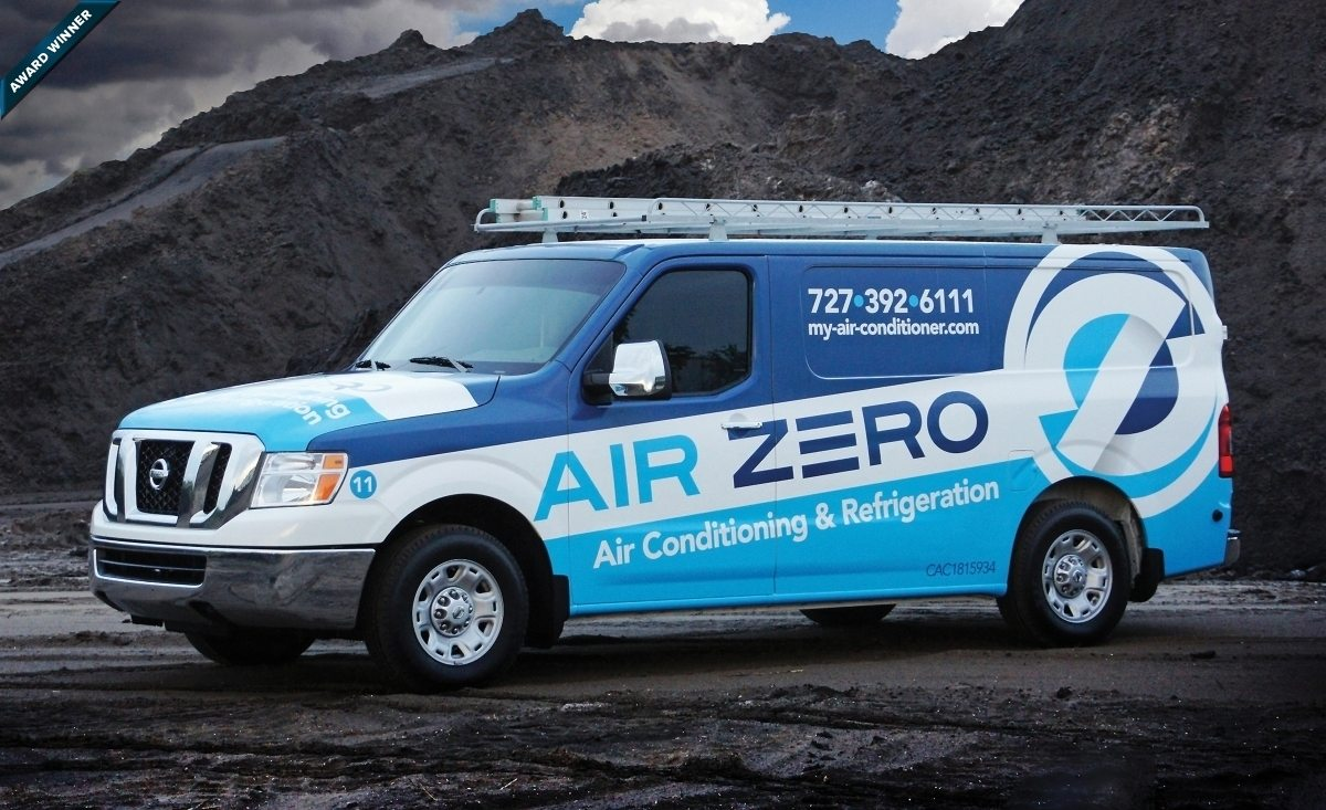 Logo Design Air Zero Air Conditioning Amp Refrigeration