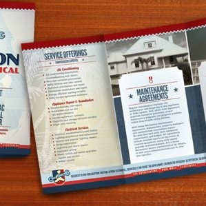 Brochure copywriting, layout, design and printing