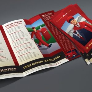 Layout, design and copywriting for a new customer brochure