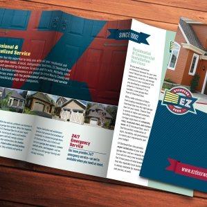 Trifold brochure design