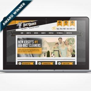 Award-winning web site design - Gold Award 2012 Art Directors Club of NJ - Best Consumer Web Site