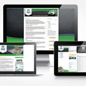 Facebook, Twitter, blog and newsletter design for Miller Homes.