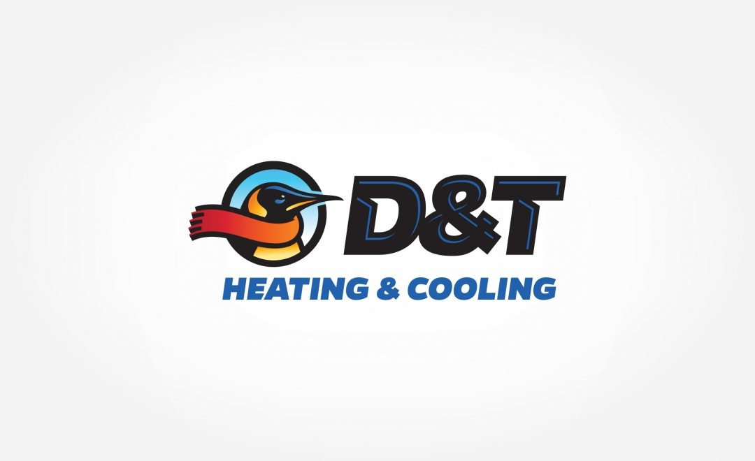 Logo for a HVAC company in Delaware.