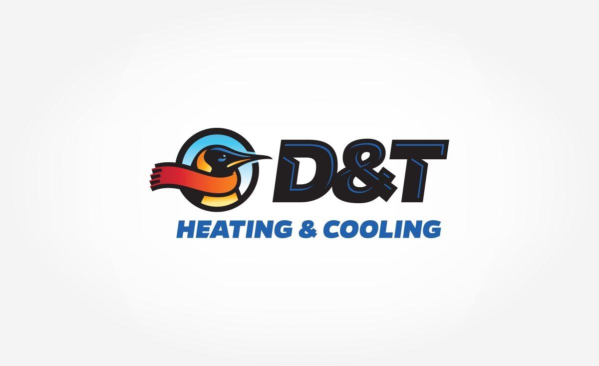 Logo for a HVAC company in Delaware.