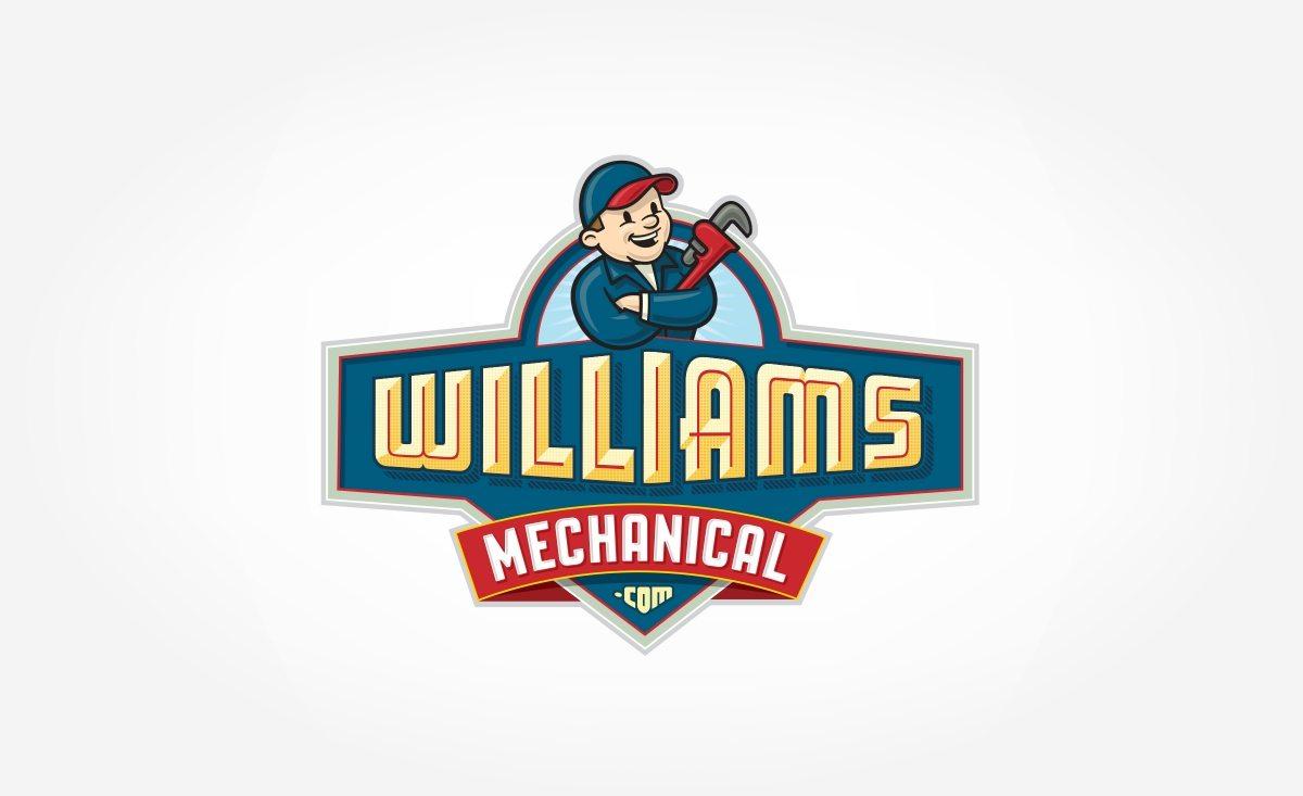 Logo design for HVAC contractor located in Albuquerque, NM.