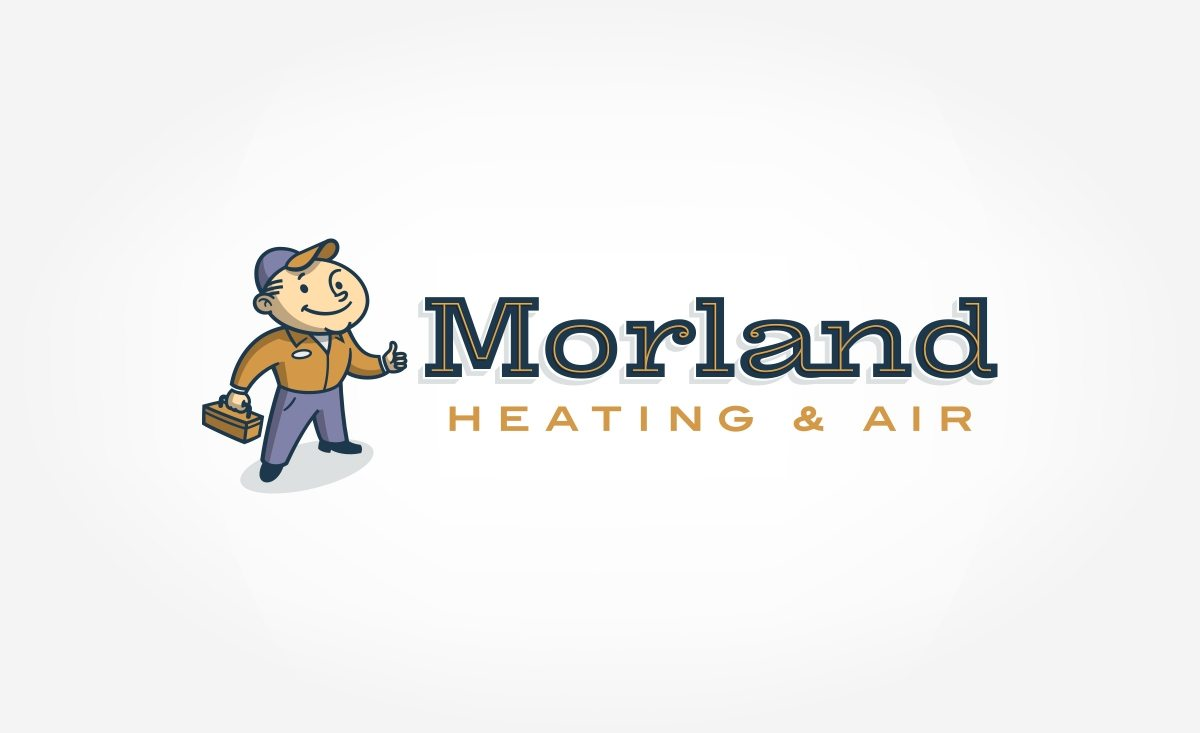 Logo for a HVAC company located in Dayton, OH