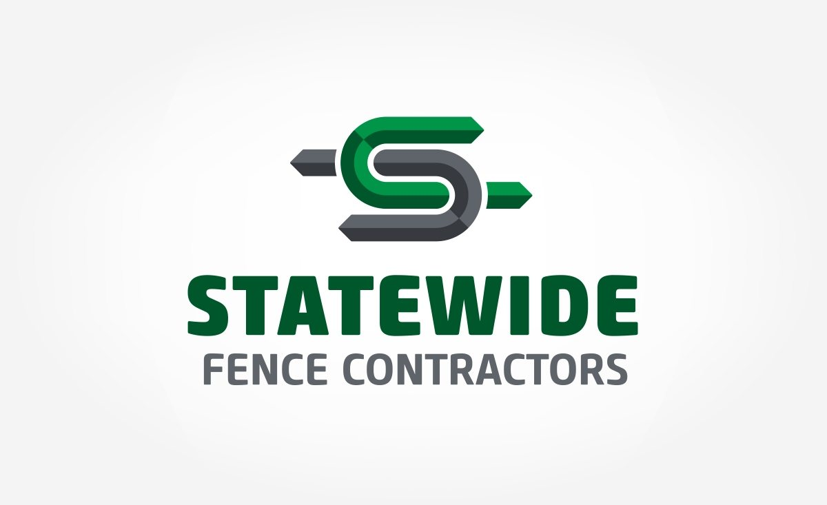 Logo design for a fencing contractor located in Garwood, NJ.