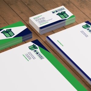 Stationery design for a moving and storage company based in Bronx, NY.