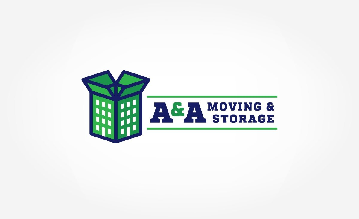 Logo for a moving and storage company based in Bronx, NY.