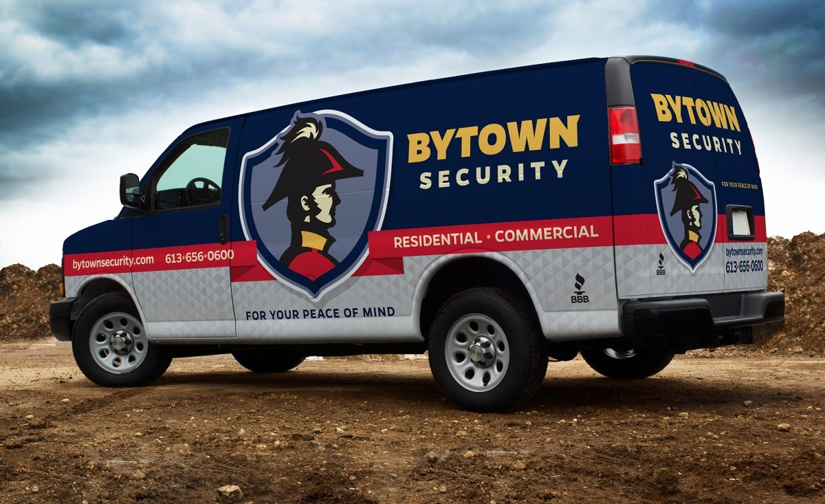 Vehicle design for a security firm in Canada.