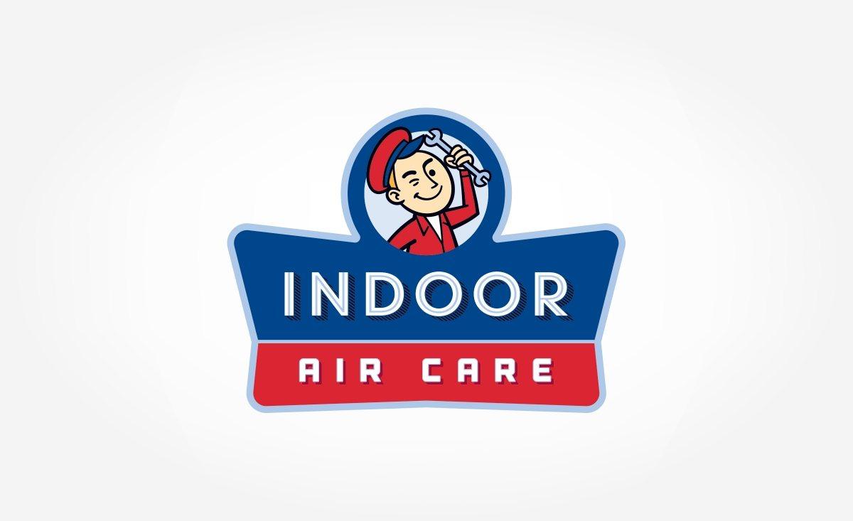 Retro logo for a HVAC company in Florida.