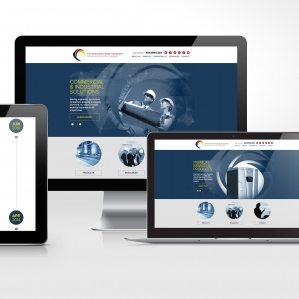 Website design for Environmental Energy Equipment, an energy equipment company specializing in services for commercial, industrial, and municipal applications located in Clifton, New Jersey.