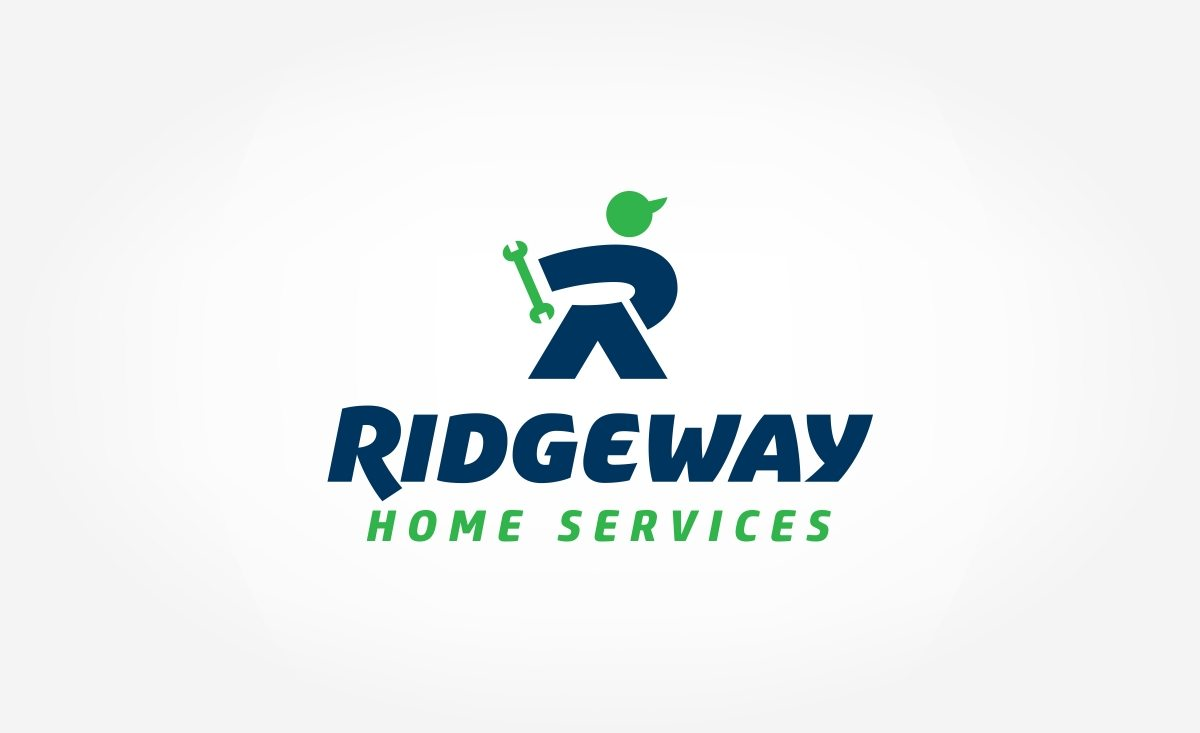 Logo design for Ridgeway Home Services located in Illinois.