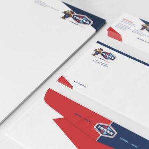 Tonna's brand voice provides guidance for messaging and content published across all marketing mediums, including stationery, print ads and brochures.